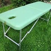 Раскладной массажный стол Про-Мастер 180 фото