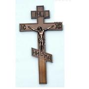 Крест распятье, дерево 8-й прямой фото