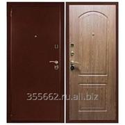 Дверь входная металлическая Оптим Дуб Светлый фото