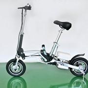 Складной мини велосипед с мотором Shrinker фото