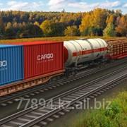 Предоставляем услуги по погрузке/выгрузке ж/д вагонов, контейнеров фото