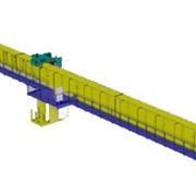 Кран мостовой электрический однобалочный с консольной тележкой фото