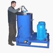 Двухроторный агломератор АПР-30х2 для переработки отходов стрейч фото