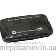 Кардридер ВСЕ-В-ОДНОМ , внешний USB 363