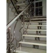 Стальные маршевые лестницы