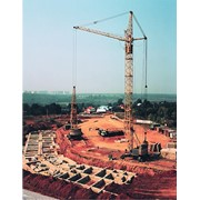 Кран башенный КБ-405 фото