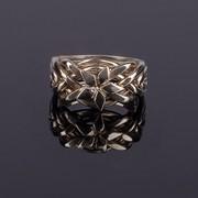 Серебряное кольцо-головоломка «Звезда» от Wickerring фото