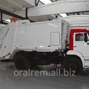 Машина для уборки бытовых отходов МБО 10 на базе Камаз 43255 - 10м³ фото