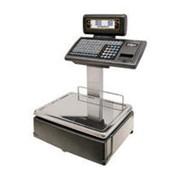Торговые весы с дисплеем и клавиатурой на стойке DIBAL M525D фото