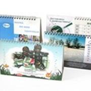 Перекидные настольные календари фото