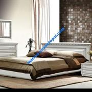Кровать Элит белый от АРТмебель фото