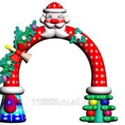 Мобильная арка Новогодняя фото