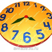 Мягкий модуль мат круглый Часы фото
