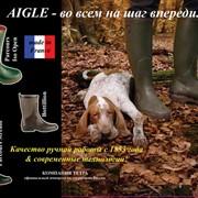 Сапоги из натурального каучука для охоты Aigle фото