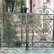 Кованые ограды, ворота, ручная работа, индивидуальный дизайн фото