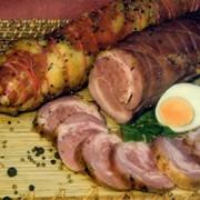 Деликатесные мясные изделия из говядины и свинины фото