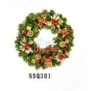 Рождеств венок D30 (цв.красн) (1/64) фото