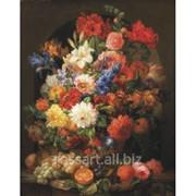Картина на холсте Цветочная композиция krt7 фото