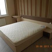Изготовление кровати с ящиками на заказ фото