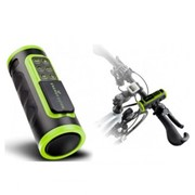 Колонки Energy Sistem Soyntec Bike MP3 Music Box Black&Green (microSDHC, Rechargeable battery, FM) фото