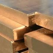 Плита бронзовая 40х400х400 БрНБТ фото