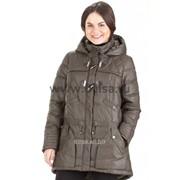 Куртка без меха Mishele 9515 хаки фото