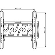 Кронштейн для телевизора и монитора S-126B фото