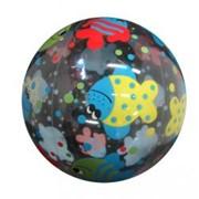 Мяч надув. 40см 141-336С с рисунком фото