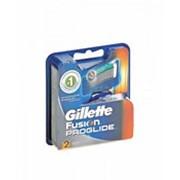 Сменные кассеты для бритья GILLETTE fusion proglide, 2шт фото