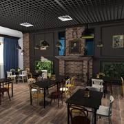 Дизайн проект кафе фото