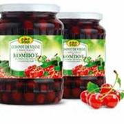 Compot din visine la export din Moldova фото