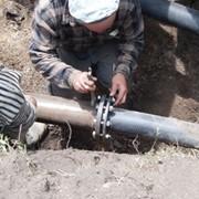 Прокладка сетей водоснабжения и канализации фото