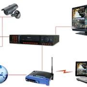 Установка и подключение к ЛВС активного сетевого оборудования фото