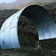Круглые МГК гофр 381х142 мм, 381х140 мм, длина дуги 29600 мм фото