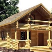 Деревянный гостевой дом фото