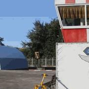 Ангар арочный двухслойный вертолетные (утепленный) фото
