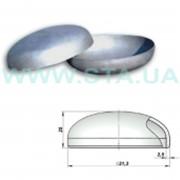 Заглушка стальная оцинкованная 21x2,5 мм ГОСТ 17379-01 фото