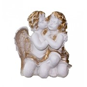 Фигура Два ангела целующиеся бел 400 мм фото