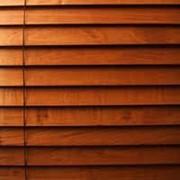 Жалюзи деревянные фото