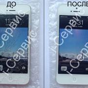 Замена дисплея на белом iPhone 5 фото