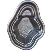 Пластиковый садовый пруд 190 л, цвет черный фото