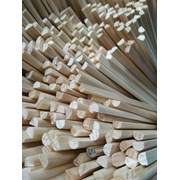 Пазовый клин (сосна кедровая) 60 мм (4*3) фото