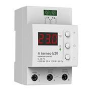 Терморегулятор terneo b20 для теплого пола фото