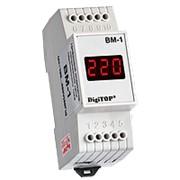 Вольтметр ВМ-1 Однофазный вольтметр ВМ-1.Служит для измерения действующего значения напряжения в сети. фото