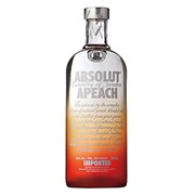 Водка Absolut Apeach 750ml фото