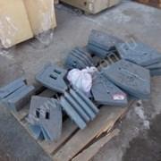 Лопатки бетоносмесителя JS1000 бетонного завода фото
