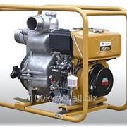 Переносная дизельная мотопомпа Robin Subaru PTD405T для сильнозагрязненных вод до 120 м3/час фото