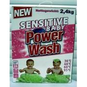 Средства для стирки детского белья Power Wash BABY 2,4 кг. Артикул: 016011426 фото
