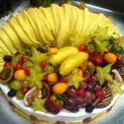Торты фруктовые фото