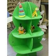 Стойка-стеллаж для игрушек «Дерево малое» фото